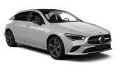RENT A STAR Car rental Porto - Airport Standard car - Mercedes CLA Estate
