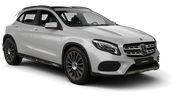 SIXT Car rental Norrkoping Suv car - Mercedes GLA