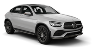 SIXT Car rental Vienna - Kagran Suv car - Mercedes GLC