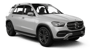 SIXT Car rental Abu Dhabi - Downtown Suv car - Mercedes GLE