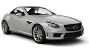 SIXT Car rental Dubai - Al Quoz Convertible car - Mercedes SLK Convertible