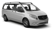 HERTZ Car rental Breda Van car - Mercedes V Class