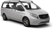 DOLLAR Car rental Durban - Airport - King Shaka Van car - Mercedes Vito