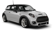 ROYAL CAR RENTAL Car rental Trou D'eau Douce - Hotel Bougainville Convertible car - Mini Cooper