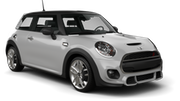 DOLLAR Car rental Dubai - Marina Economy car - Mini Cooper F55