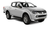 AVIS Car rental Sochi - Adler Airport Suv car - Mitsubishi L200