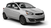 ENTERPRISE Car rental Carle Place Economy car - Mitsubishi Mirage