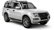 BUDGET Car rental Reykjavik - Keflavik International Airport Suv car - Mitsubishi Pajero