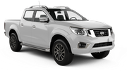 DOLLAR Car rental Durban - Airport - King Shaka Suv car - Nissan Double Cab