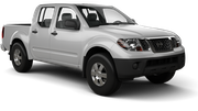 THRIFTY Car rental Tampa - Airport Van car - Nissan Frontier