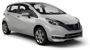 AUTO-UNION Car rental Larnaca - Airport Compact car - Nissan Note
