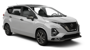 GREEN MOTION Car rental Trou D'eau Douce - Hotel Bougainville Standard car - Nissan Note Grand Livina