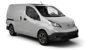 HERTZ Car rental Trou D'eau Douce - Hotel Bougainville Van car - Nissan NV200