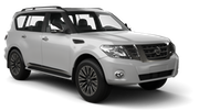 AERODRIVE Car rental Auckland - Downtown Suv car - Nissan Patrol