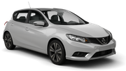 THRIFTY Car rental Helsinki - Airport Compact car - Nissan Pulsar