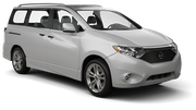 THRIFTY Car rental Kona Airport Van car - Nissan Quest