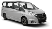 TIMES Car rental Nagasaki - Airport Van car - Nissan Serena