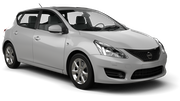 THRIFTY Car rental Dubai - Marina Compact car - Nissan Tiida