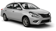 HERTZ Car rental Kona Airport Compact car - Nissan Versa