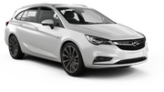 MEX Car rental Sofia - Airport - Terminal 2 Standard car - Opel Astra Estate