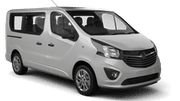 INTERRENT Car rental Jurmala Van car - Opel Vivaro
