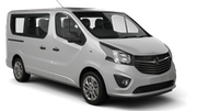 BUDGET Car rental Copenhagen - International Airport - Kastrup Van car - Opel Vivaro Cargo Van