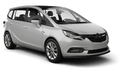 VEGER Car rental Sofia - Airport - Terminal 2 Van car - Opel Zafira