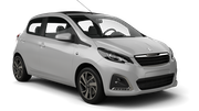 AVIS Car rental Marrakech - Airport Mini car - Peugeot 108