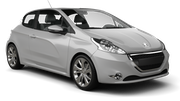 AVIS Car rental Linkoping Economy car - Peugeot 208