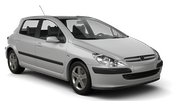 PREPAID Car rental Marrakech Compact car - Peugeot 307
