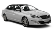 THRIFTY Car rental Orchard Area - Hotel Jen Tanglin - Hotel Delivery Standard car - Peugeot 408