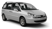 ALAMO Car rental Santo Domingo - Las Americas Intl. Airport Van car - Peugeot 807