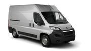 AVIS Car rental Tallinn - Downtown Van car - Peugeot Boxer Cargo Van