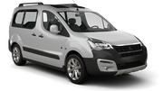 TOPCAR Car rental Tenerife - Airport North Van car - Peugeot Partner