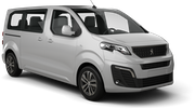 SIXT Car rental Jurmala Van car - Peugeot Traveller