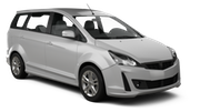 AVIS Car rental Kuching - Airport Van car - Proton Exora