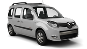 GLOBAL RENT A CAR Car rental Casablanca Port Railway Station Van car - Renault Kangoo