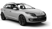 TOP Car rental Sofia - Airport - Terminal 2 Standard car - Renault Megane Estate