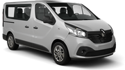 SIXT Car rental Jurmala Van car - Renault Trafic