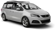 EUROPCAR Car rental Lund Van car - Seat Alhambra