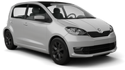 BUDGET Car rental Bratislava - Downtown Mini car - Skoda Citigo