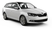 INTERRENT Car rental Vienna - Kagran Standard car - Skoda Fabia Estate