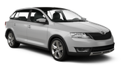 EUROPCAR Car rental Bratislava - Downtown Compact car - Skoda Rapid Spaceback