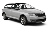 GOLDCAR Car rental Podgorica Airport Compact car - Skoda Rapid Spaceback ya da benzer araçlar