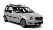 MACK Car rental Dubrovnik - Airport Van car - Skoda Roomster