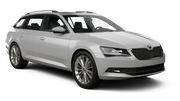EUROPCAR Car rental Lund Standard car - Skoda Superb Estate