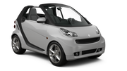 SADORENT Car rental Lisbon - Airport Convertible car - Smart Fortwo Convertible