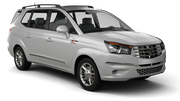 DOLLAR Car rental King Hussein Airport Aqaba Van car - Ssangyong Rodius