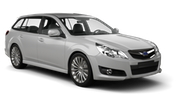 ABELL Car rental Christchurch - Airport Standard car - Subaru Legacy Estate