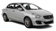 FIRST Car rental Durban - Airport - King Shaka Standard car - Suzuki Ciaz
